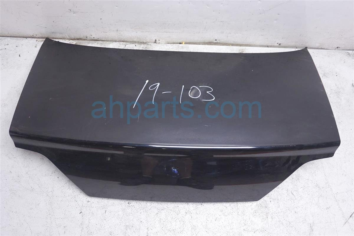 2003 Acura TL Trunk / Deck Lid   Black   De badge 68500 S0K A91ZZ Replacement