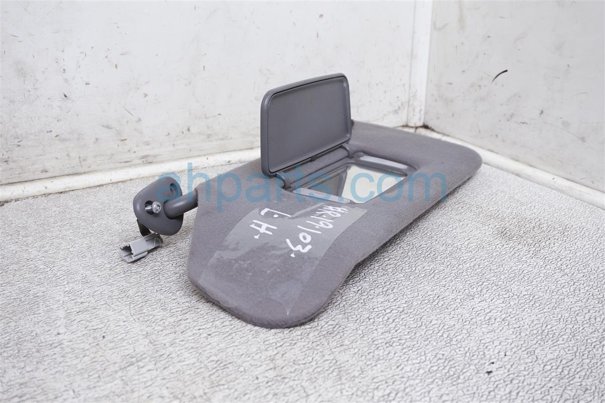 2003 Acura TL Driver Sun Visor   Grey 83280 S84 A03ZF Replacement