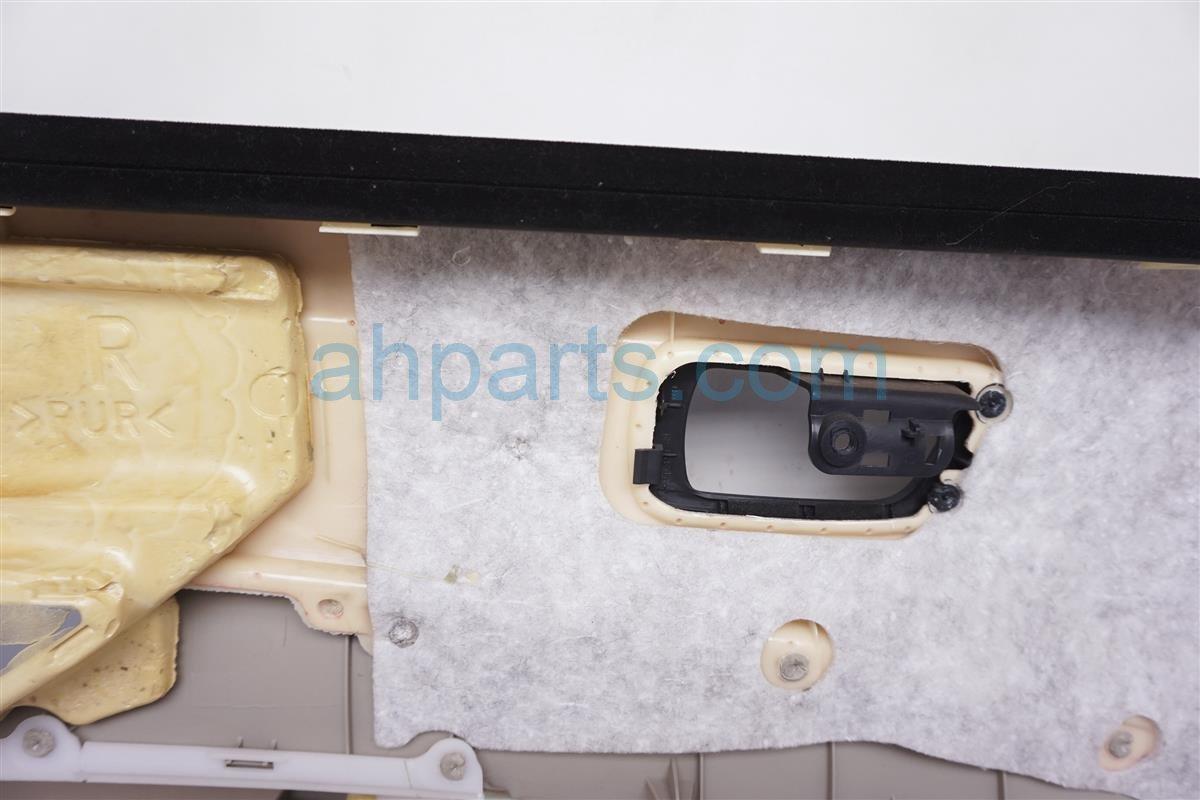 2008 Toyota Prius Panel / Liner Front Passenger Interior Door Trim   Tan 67610 47120 C0 Replacement