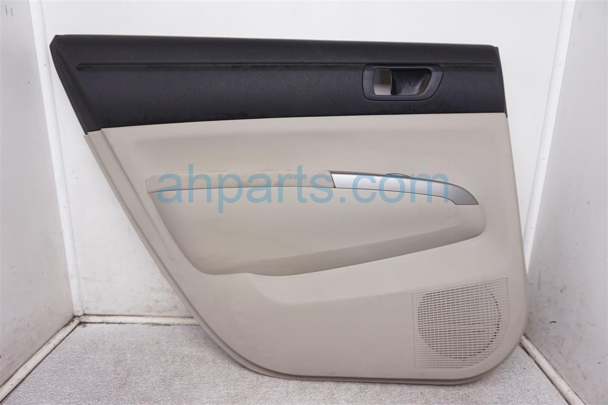 2008 Toyota Prius Panel / Liner Rear Driver Interior Door Trim   Tan 67640 47180 C0 Replacement