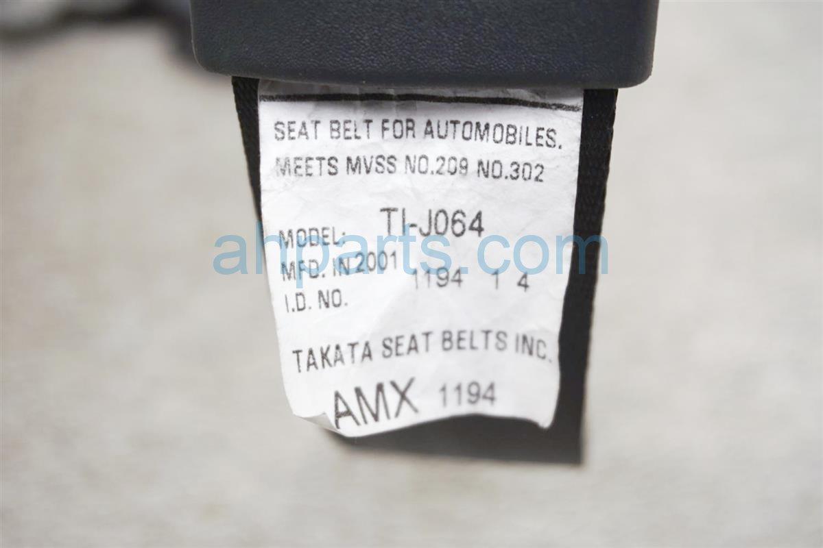 2001 Honda Accord Front Passenger Seat Belt   Black 04814 S82 A50ZA Replacement