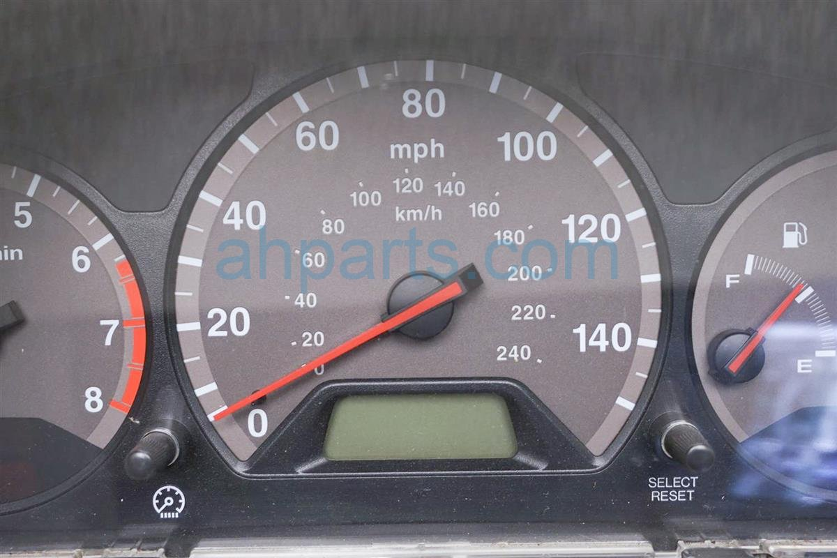 2001 Honda Accord Speedometer / Gauge Speedo Instrument Cluster 78120 S82 A03 Replacement