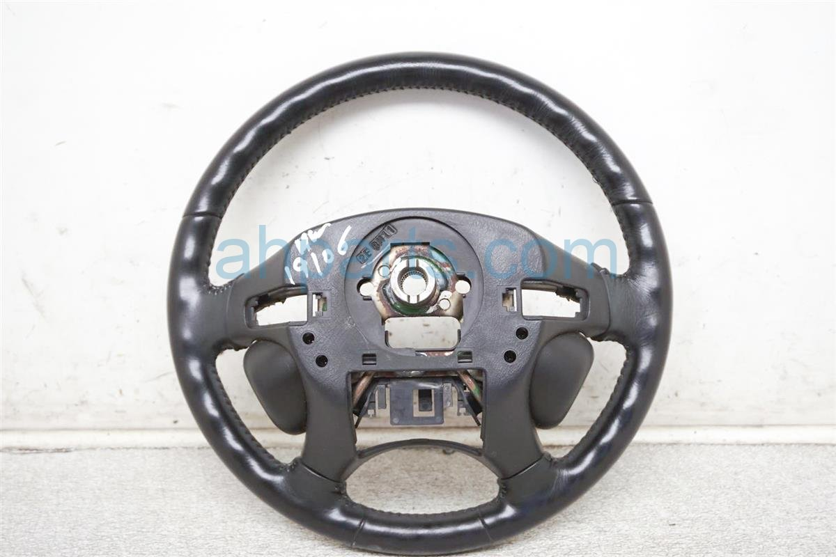 2001 Honda Accord Steering Wheel   Black Leather   2dr 78501 S82 S91ZA Replacement
