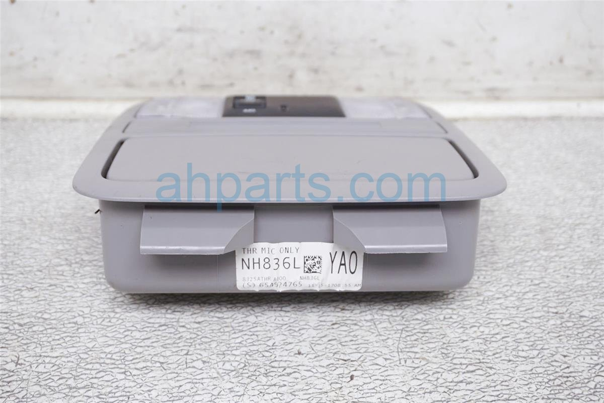 2018 Honda Odyssey Map Light / Roof Console   Gray 83250 THR A01ZB Replacement
