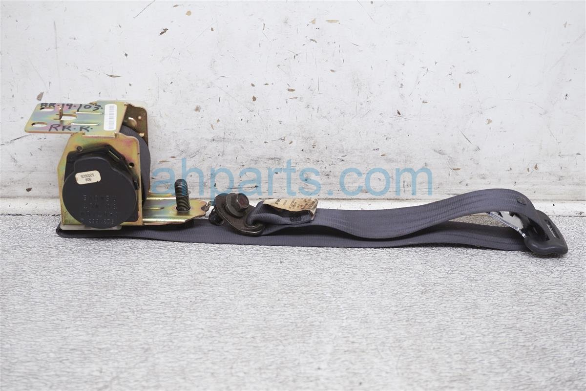 2003 Acura TL Rear Passenger Seat Belt   Black 04824 S0K A01ZB Replacement