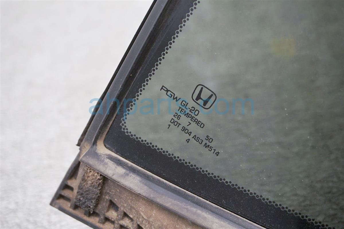 2017 Honda Ridgeline Door Window / Rear Driver Vent Glass 73455 T6Z A00 Replacement