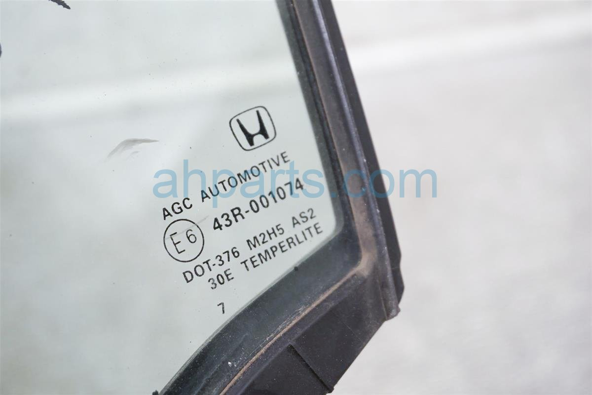 2017 Honda Ridgeline Door Windows / Front Driver Vent Glass 73370 TG7 A01 Replacement