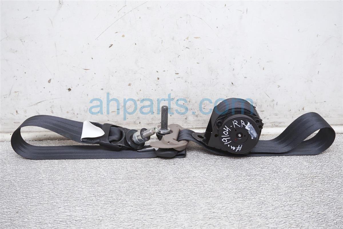 2017 Honda Ridgeline Rear Driver Seat Belt   Gray 04824 T6Z A00ZA Replacement