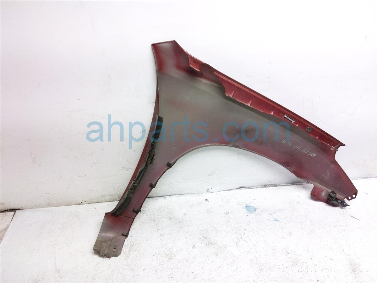 2005 Toyota Rav 4 Front Driver Fender   Red 53812 42180 Replacement