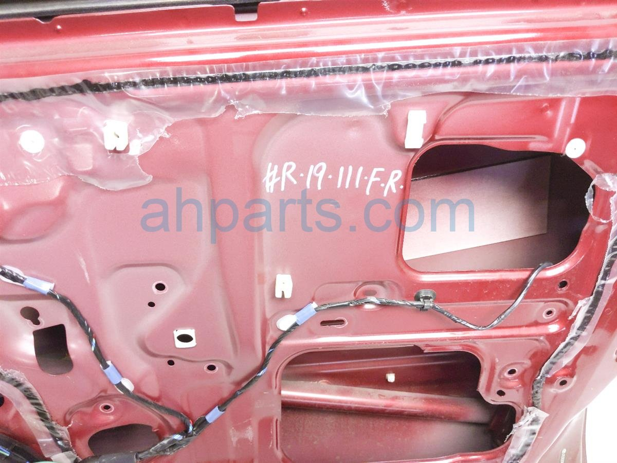2005 Toyota Rav 4 Front Passenger Door   Red     Has A Ding 67001 42090 Replacement
