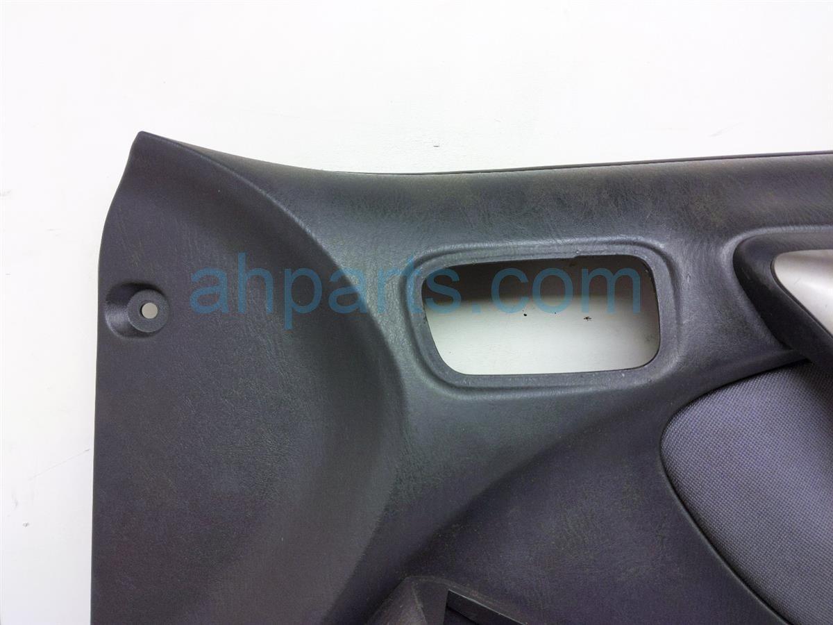 2005 Toyota Rav 4 Trim / Liner Front Passenger Interior Door Panel   Black 67610 42650 B0 Replacement