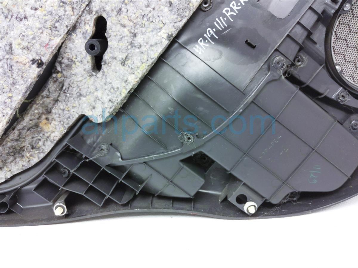 2005 Toyota Rav 4 Trim / Liner Rear Passenger Interior Door Panel   Black 67630 42290 B0 Replacement