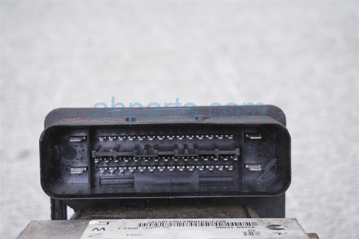 2004 Nissan Frontier Abs/vsa (anti Lock Brake) Vsa/abs Pump/modulator 47660 1Z605 Replacement