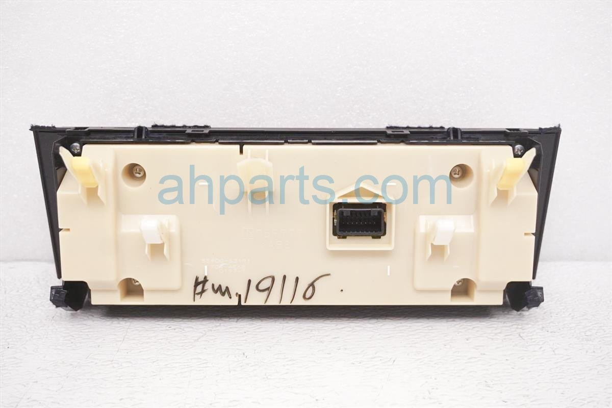 2016 Lexus Is200t Temperature Climate Heater/ac Control(on Dash 55900 53191 Replacement