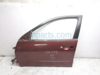 $199 Honda FR/LH DOOR - RED - SHELL ONLY