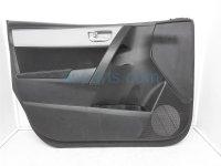 $100 Toyota FR/LH INTERIOR DOOR PANEL - BLK/SLVR