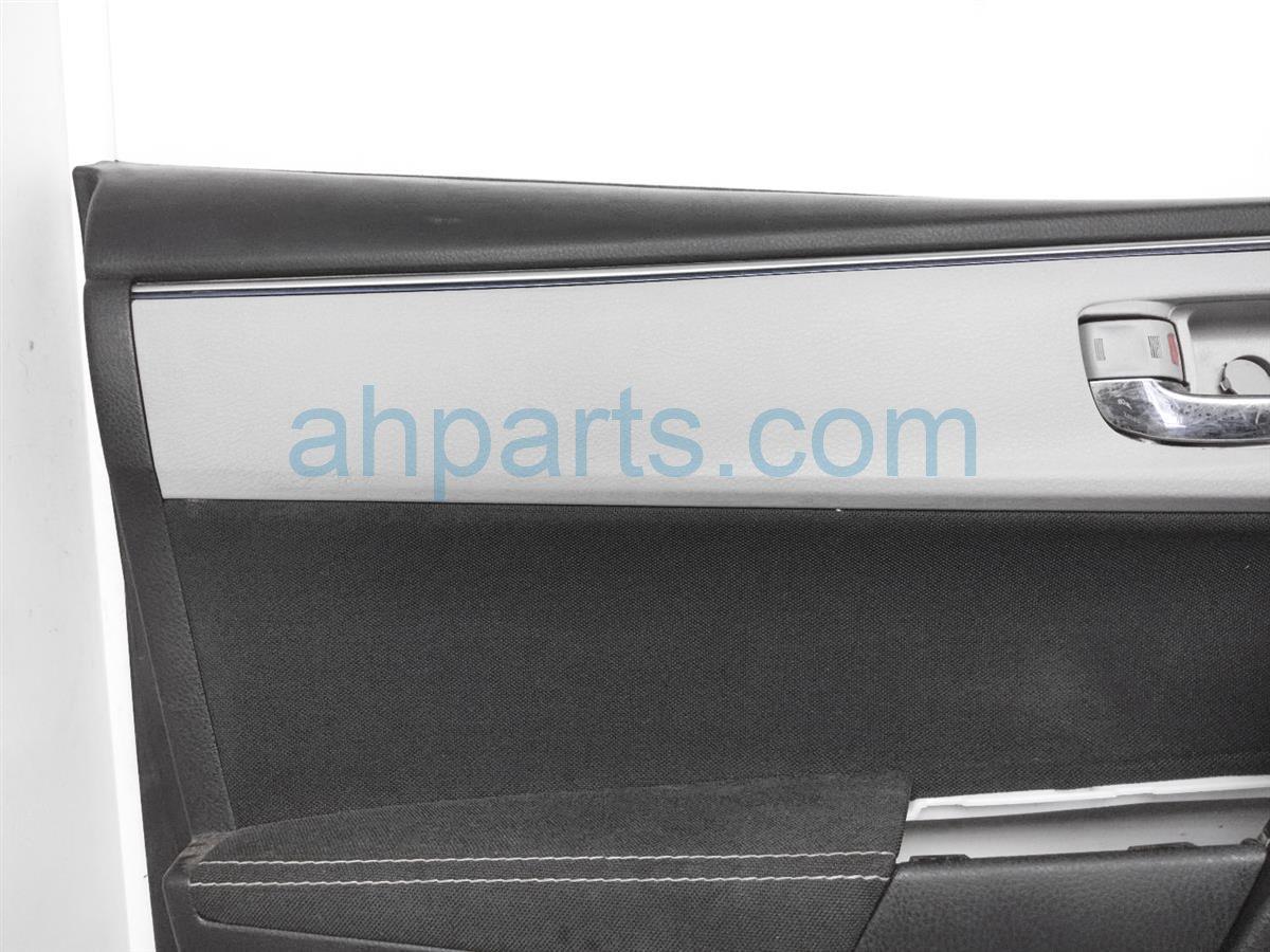2016 Toyota Corolla Trim Liner Front Driver Interior Door Panel   Blk/slvr 67620 02R32 C5 Replacement