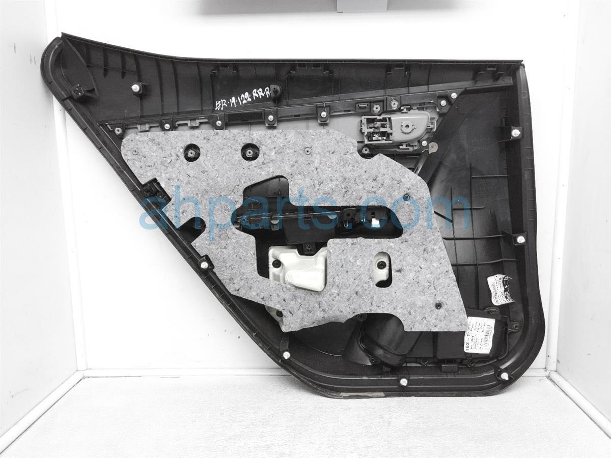 2016 Toyota Corolla Trim Liner Rear Passenger Interior Door Panel   Blk/slvr 67630 02R42 C5 Replacement
