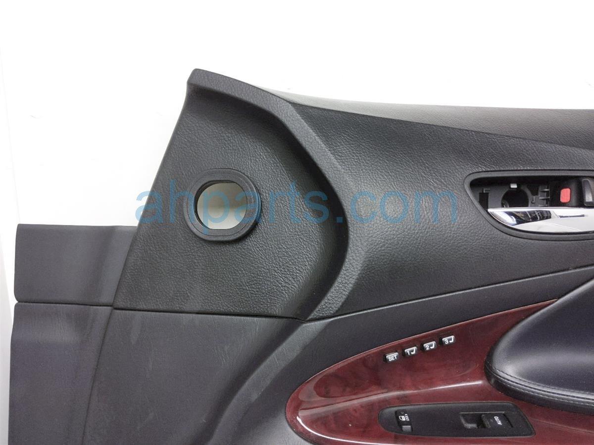 2006 Lexus Gs300 Panel / Liner Front Passenger Interior Door Trim   Black 67610 30F60 C0 Replacement