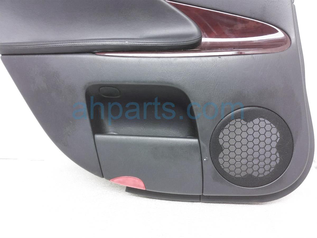 2006 Lexus Gs300 Panel / Liner Rear Driver Interior Door Trim   Black 67640 30C41 C2 Replacement