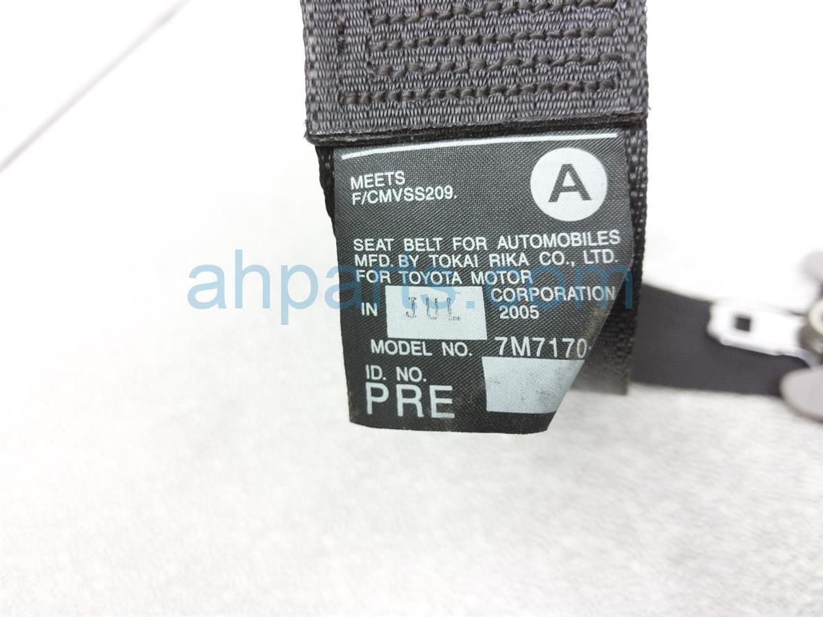 2006 Lexus Gs300 Front Passenger Seatbelt   Black   Check 73210 30C70 C0 Replacement