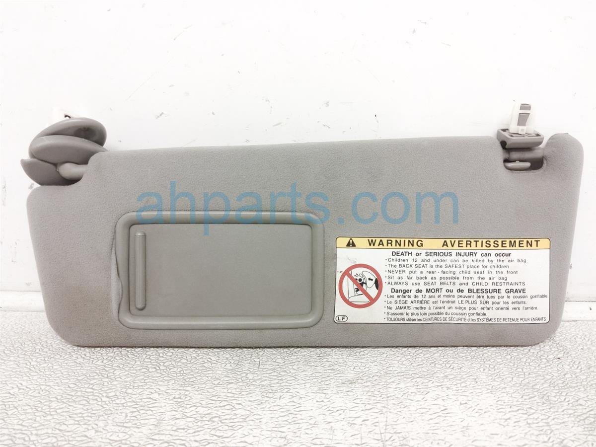 2006 Lexus Gs300 Driver Sun Visor   Grey 74320 30A20 B0 Replacement