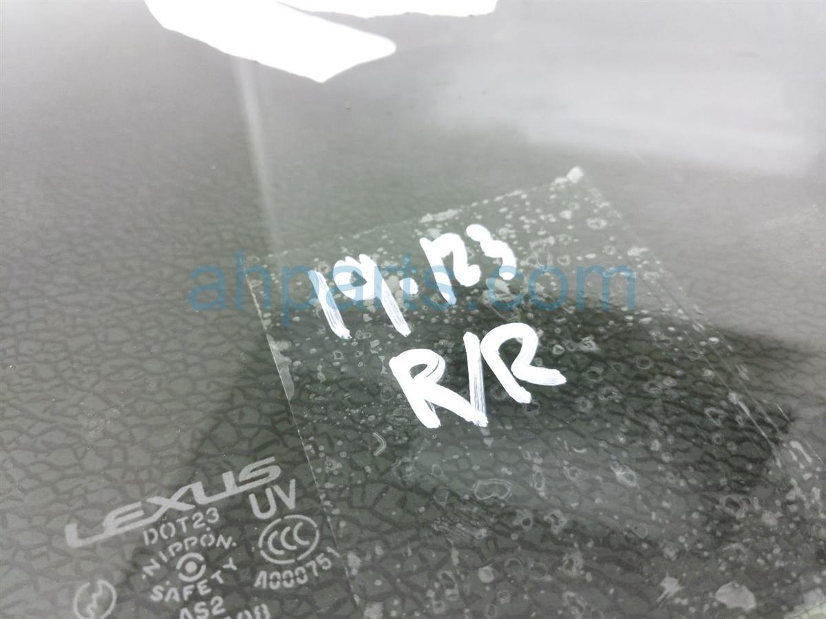 2006 Lexus Gs300 Rear Passenger Door Window Glass 68103 30681 Replacement