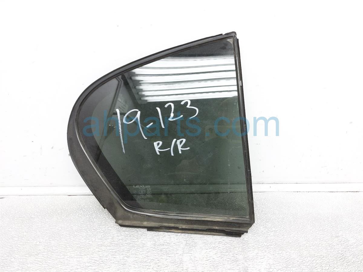 2006 Lexus Gs300 Rear Window / Passenger Door Vent Glass 68123 30611 Replacement