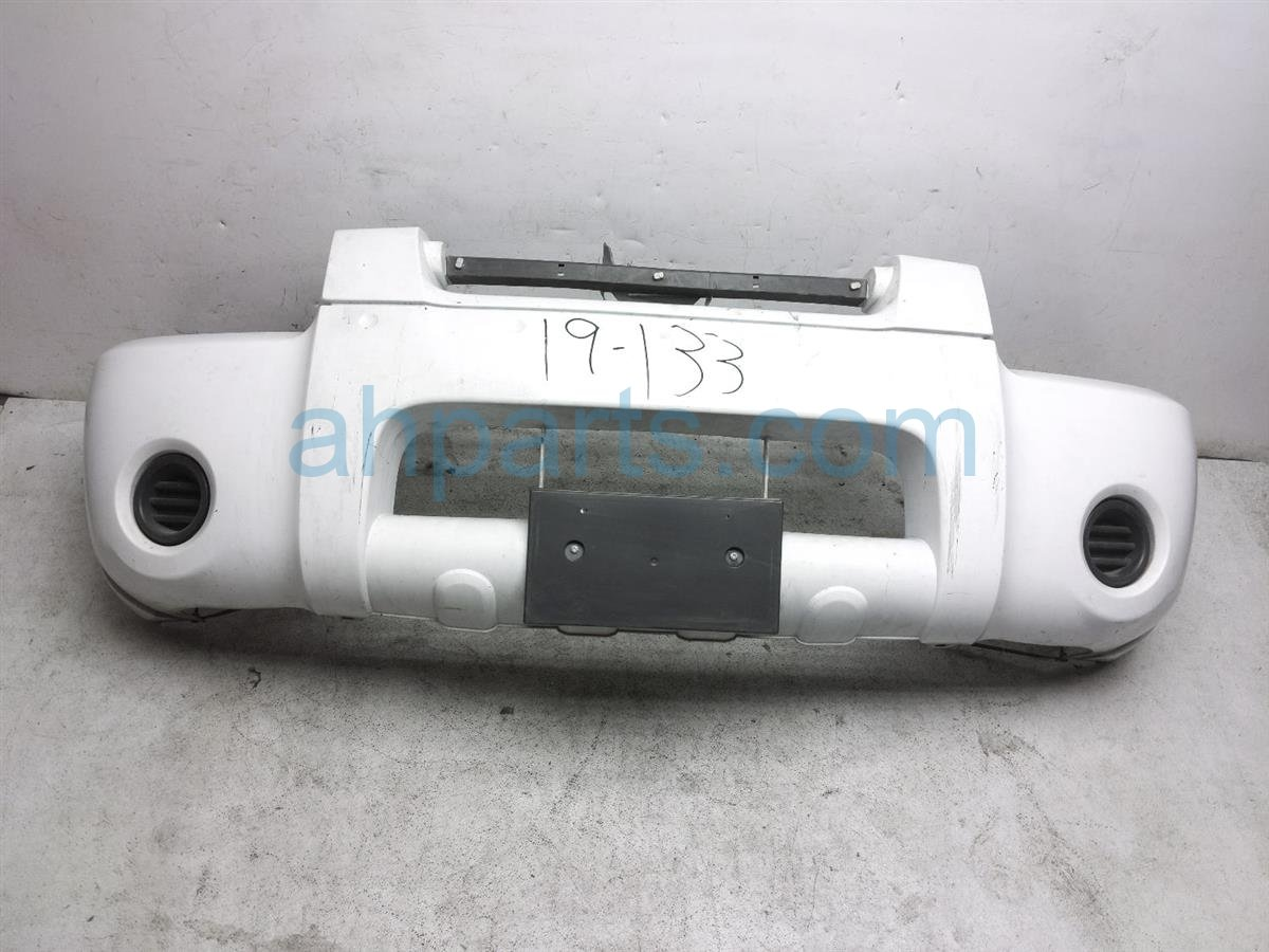 2004 Nissan Frontier Front Bumper Cover   White 62022 9Z425 Replacement