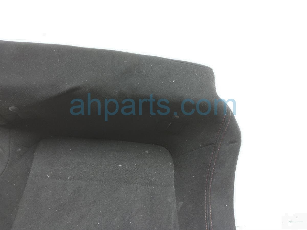 2013 Scion FR S Back (2nd Row) Rear Driver Seat Lower Portion   Black SU003 01819 Replacement