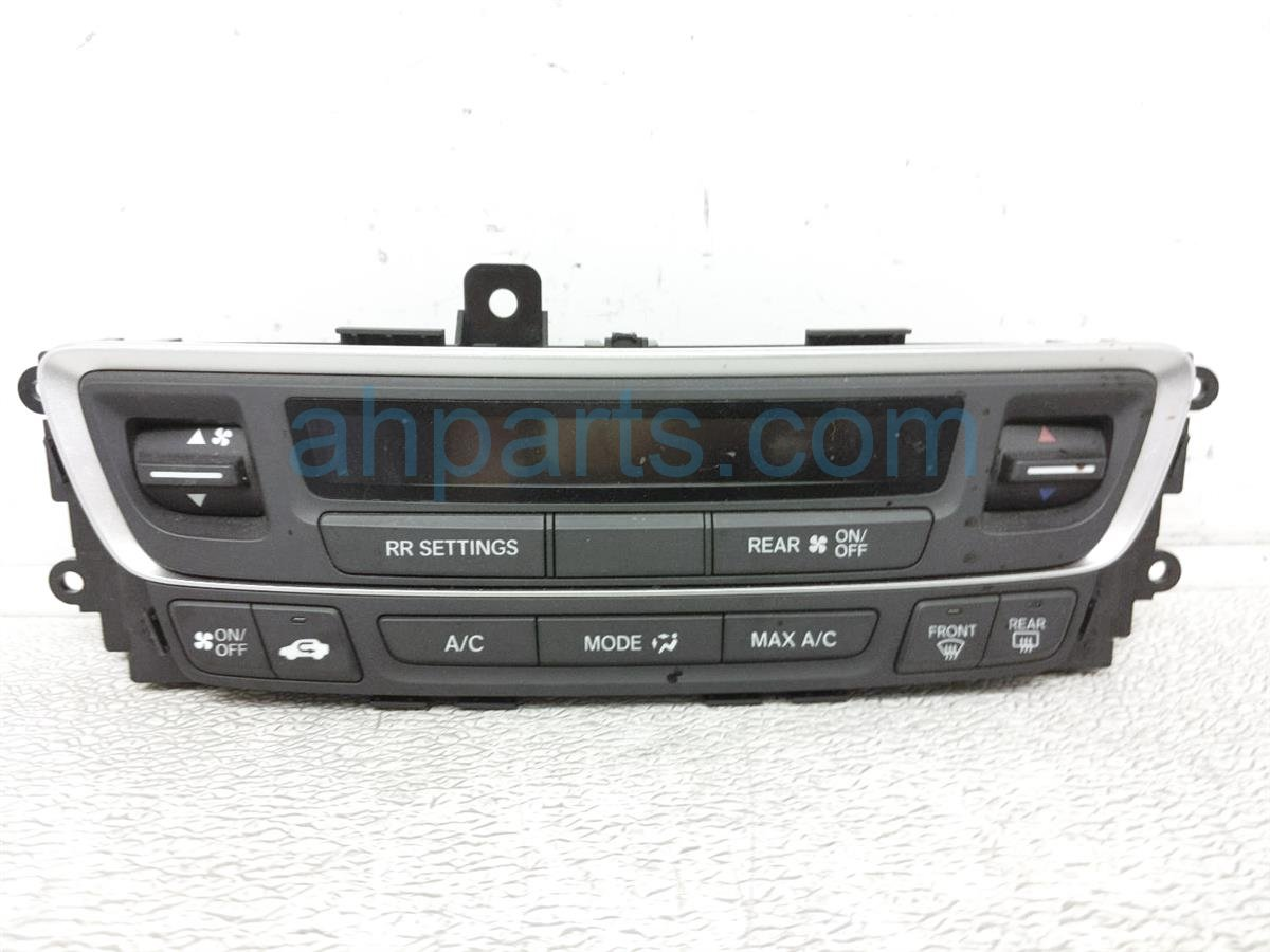 2016 Honda Pilot Temperature / Ac Heater Climate Control 79600 TG7 A01ZB Replacement