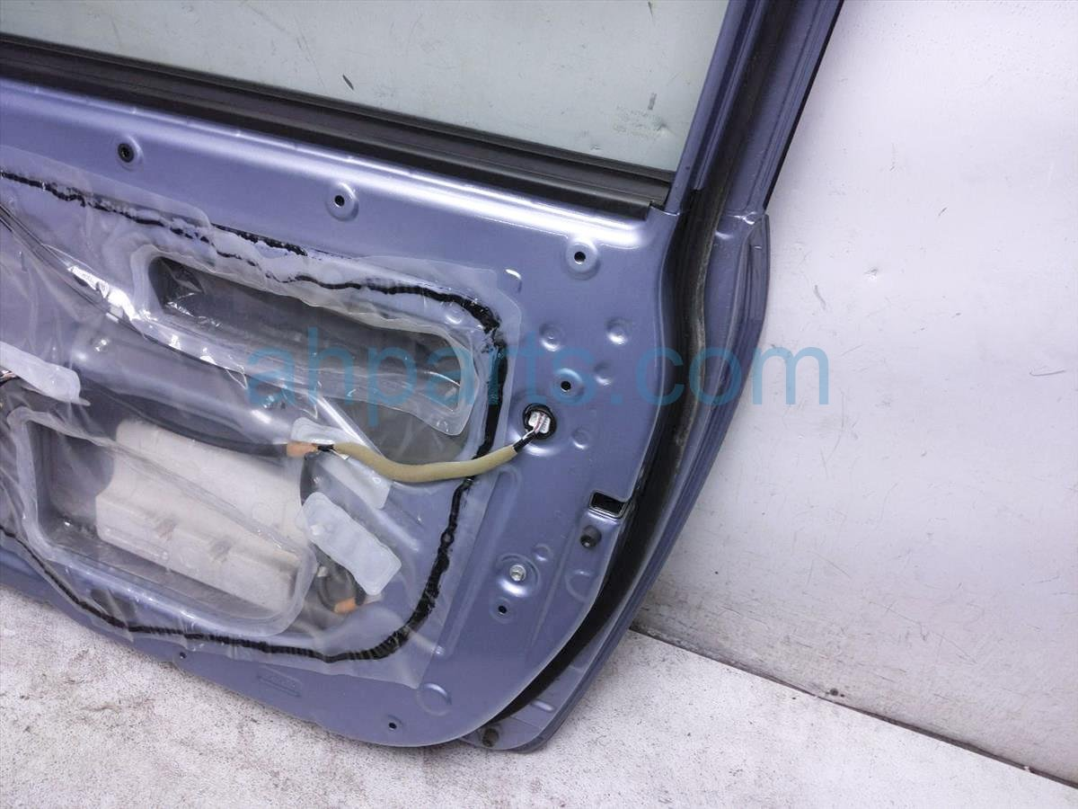 2009 Scion Tc Scion Front Passenger Door   Blue   Shell Only 67001 21182 Replacement