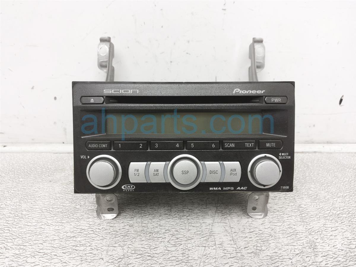 2009 Scion Tc Scion Am/fm/cd Radio PT546 00080 Replacement