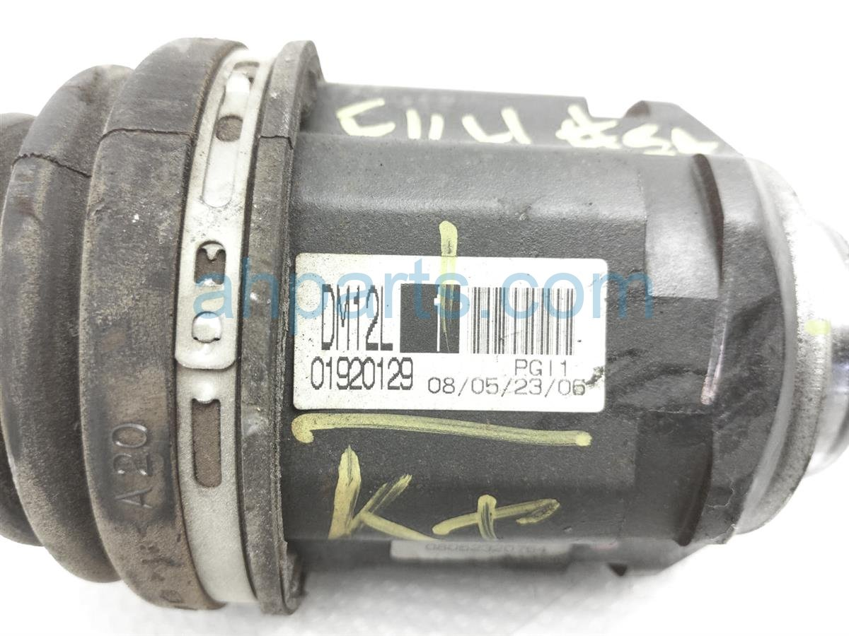 2009 Scion Tc Scion Driver Axle Drive Shaft 43420 44041 Replacement