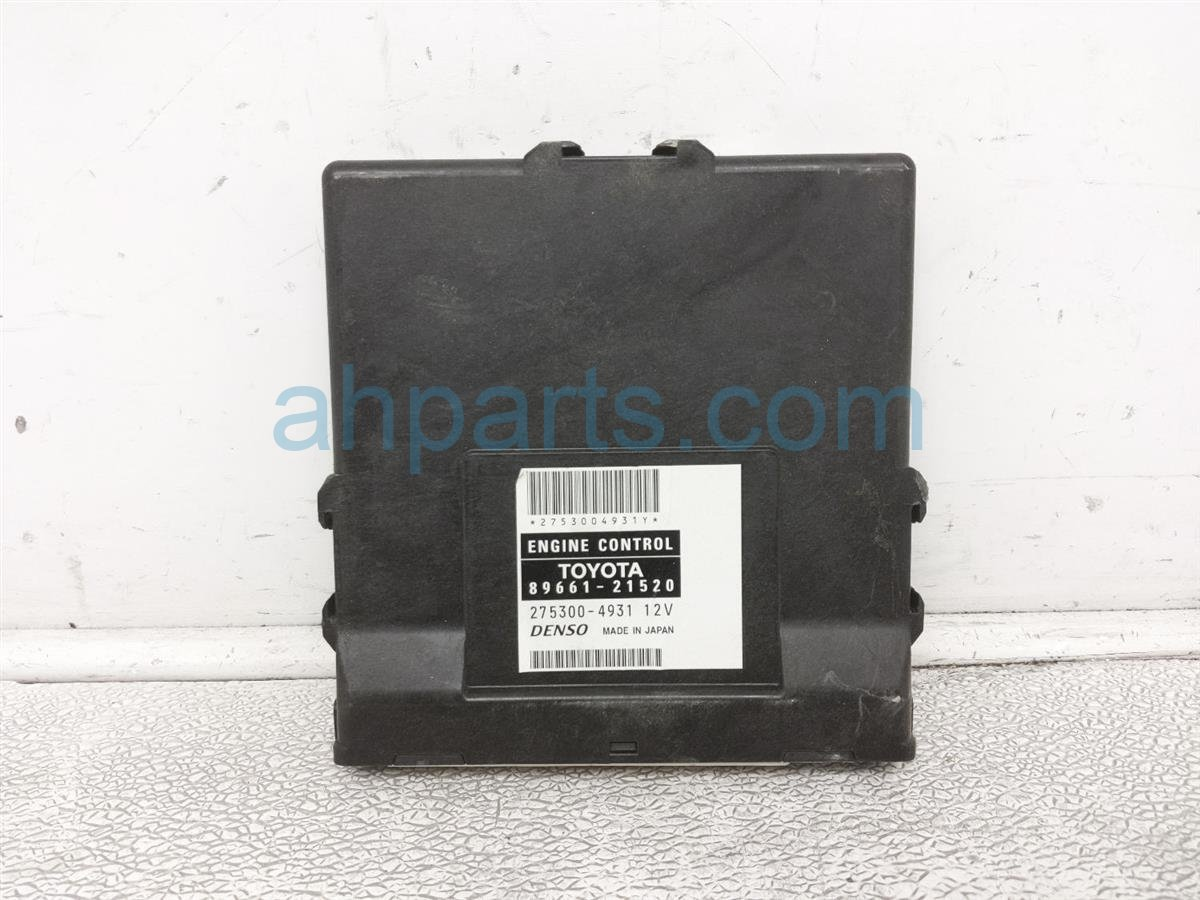 2009 Scion Tc Scion Ecu Control / Engine Computer Module 89661 21520 Replacement