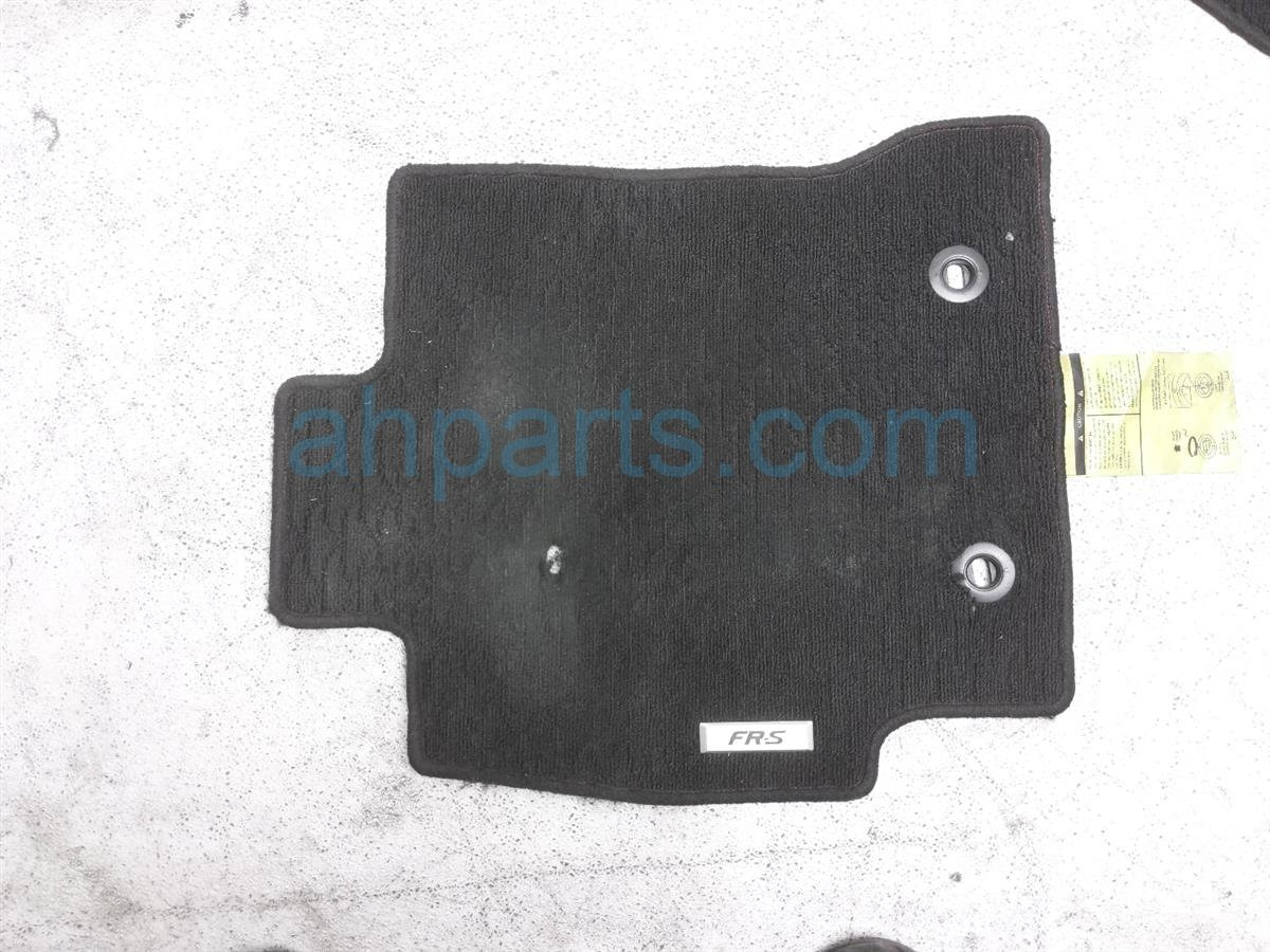 2013 Scion FR S Floor Mat   Set Of 4   Black Replacement