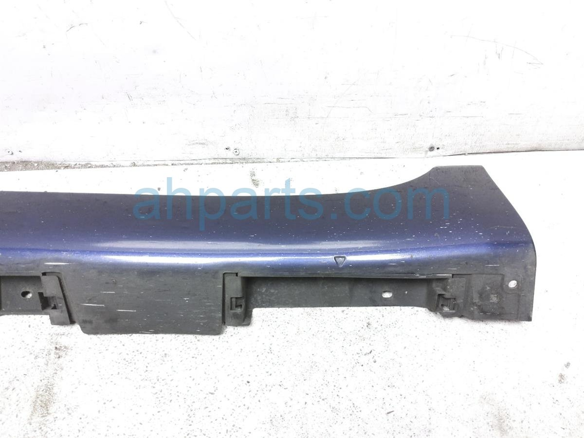 2008 Toyota Camry Rocker Trim Driver Side Skirt / Molding   Blue 75860 33030 J1 Replacement