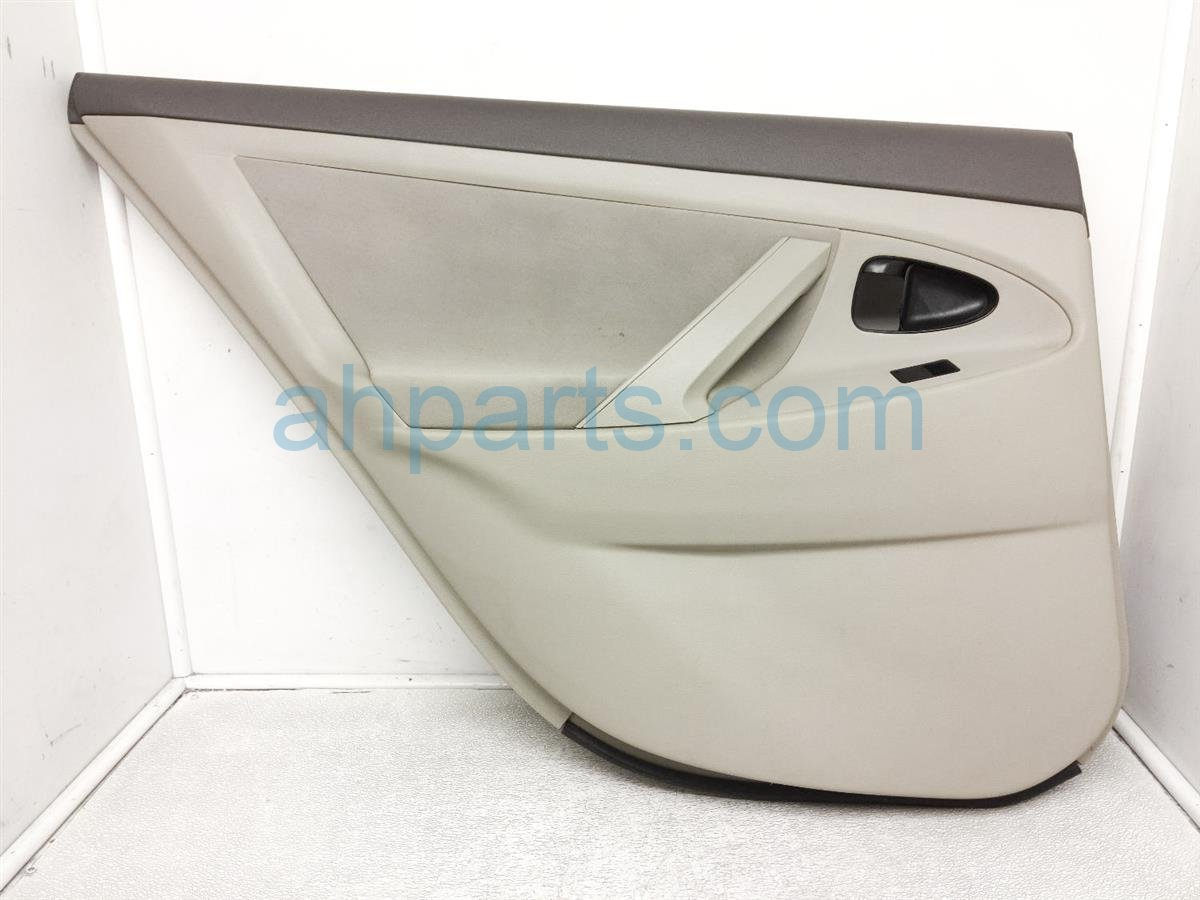 2008 Toyota Camry Trim / Liner Rear Driver Interior Door Panel   Tan 67640 06301 E3 Replacement