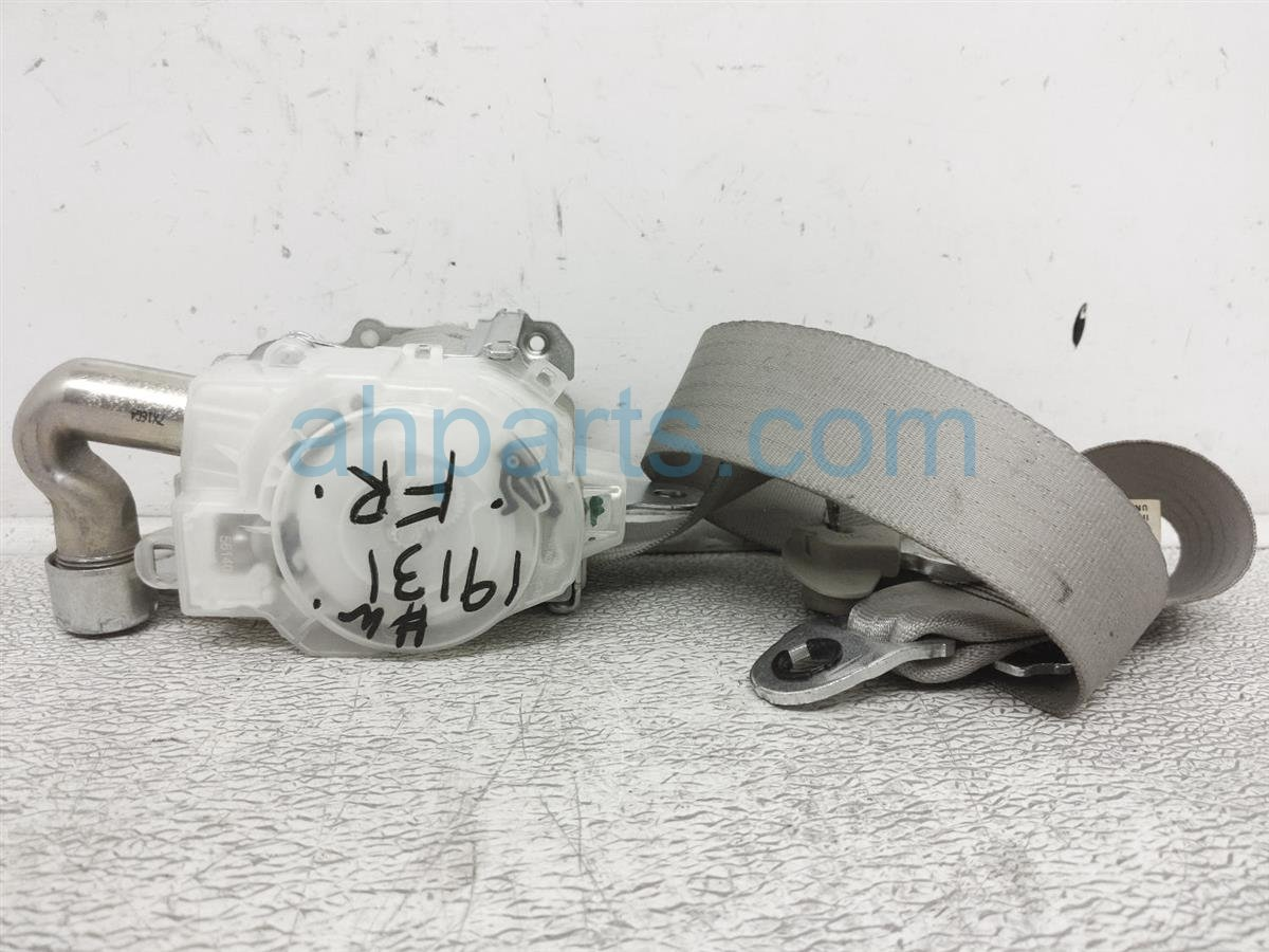 2008 Toyota Camry Front Passenger Seat Belt   Grey 73210 06161 B1 Replacement