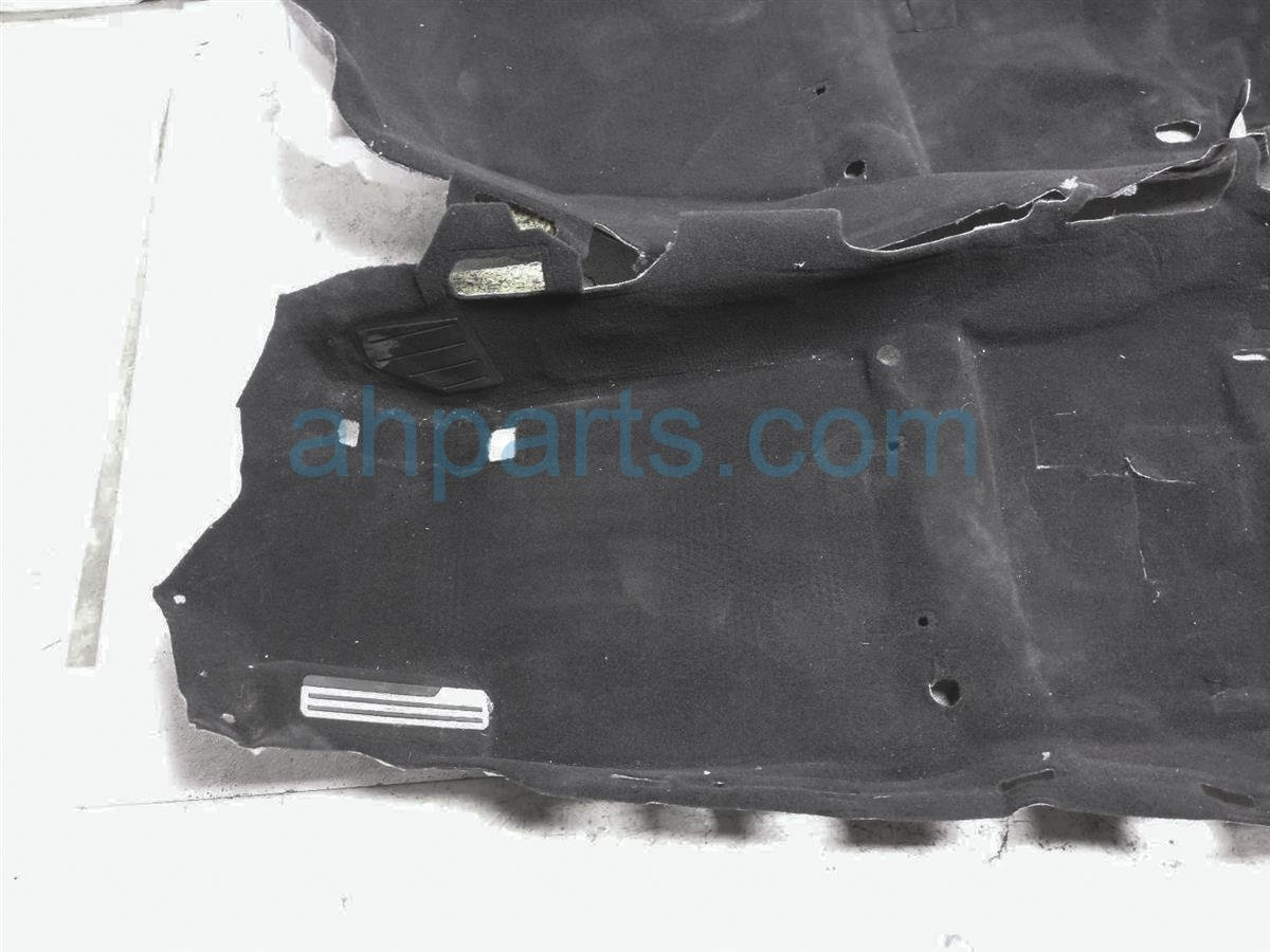 2010 Nissan 370z Front / Ground Floor Carpet   Black 74902 1EA0A Replacement