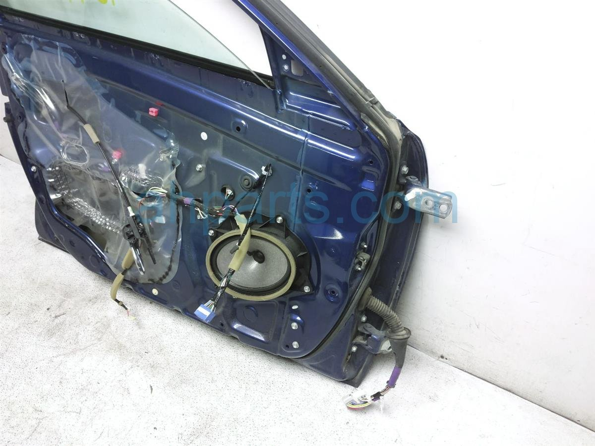 2008 Toyota Camry Front Driver Door   Blue Shell Only Replacement