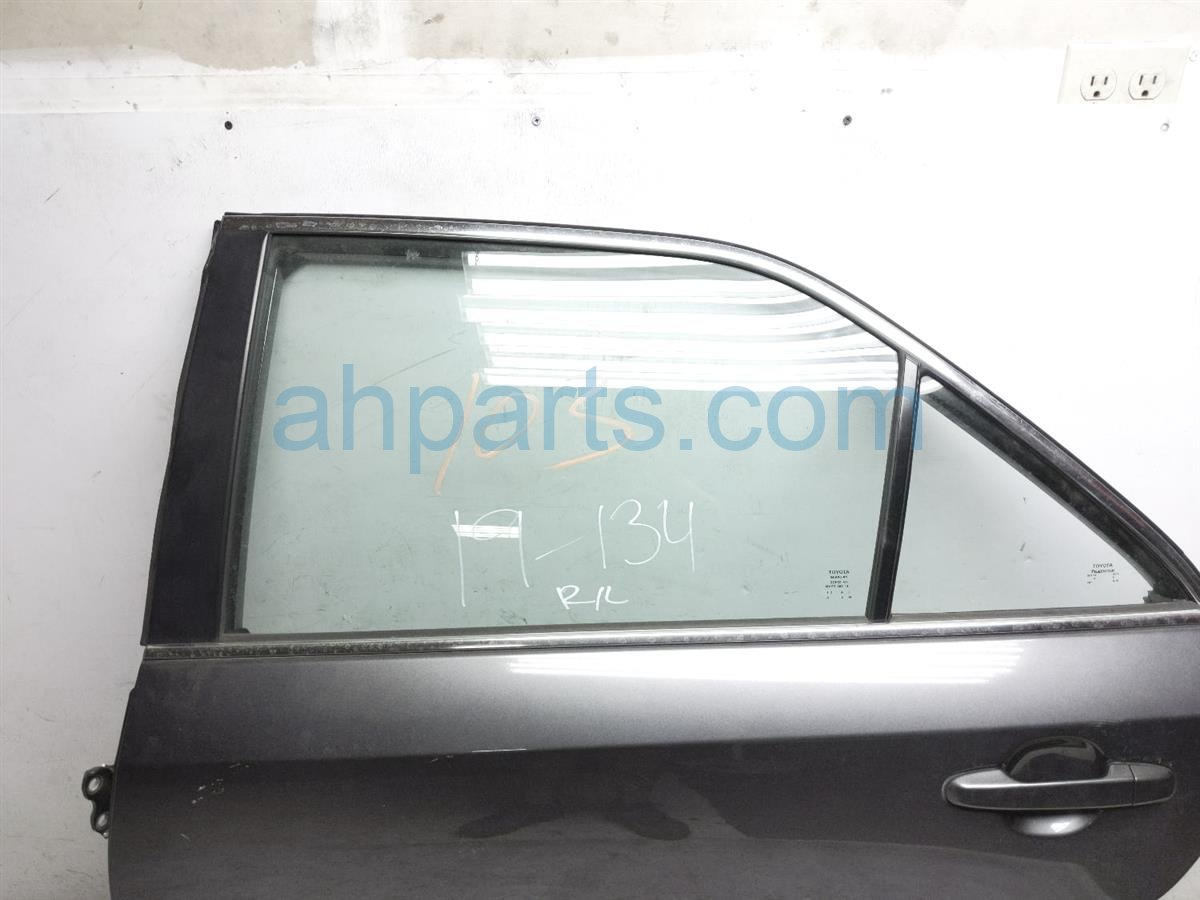 2013 Toyota Camry Rear Driver Door   Grey   No Inside Panel 67004 06150 Replacement