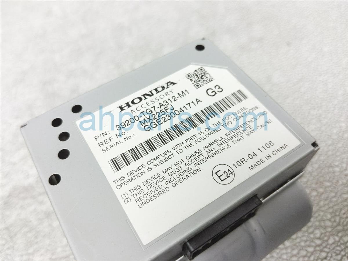 2016 Honda Pilot Active Noise Control Unit Module 39200 TG7 A31 Replacement