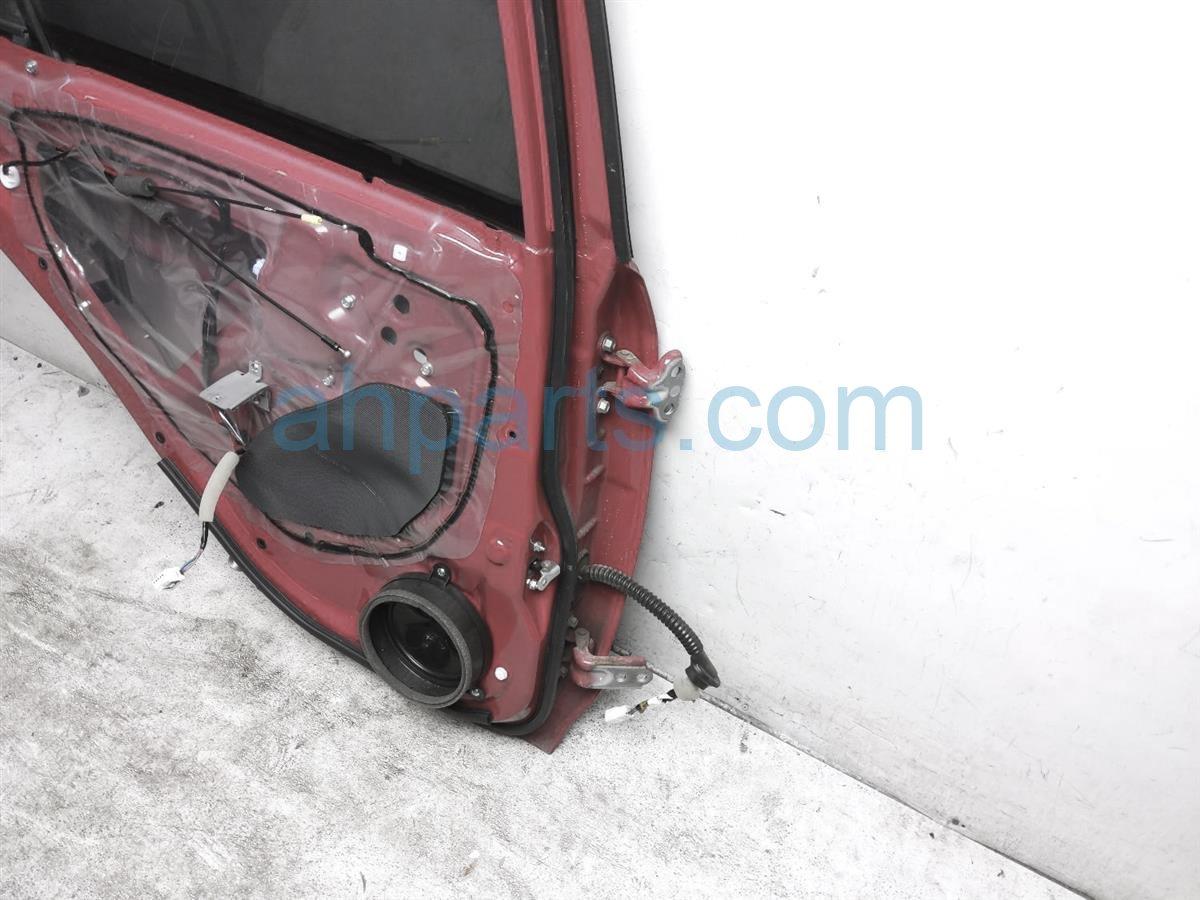 2017 Subaru Crosstrek Rear Driver Door   Red   No Inside Panel 60409FJ0309P Replacement