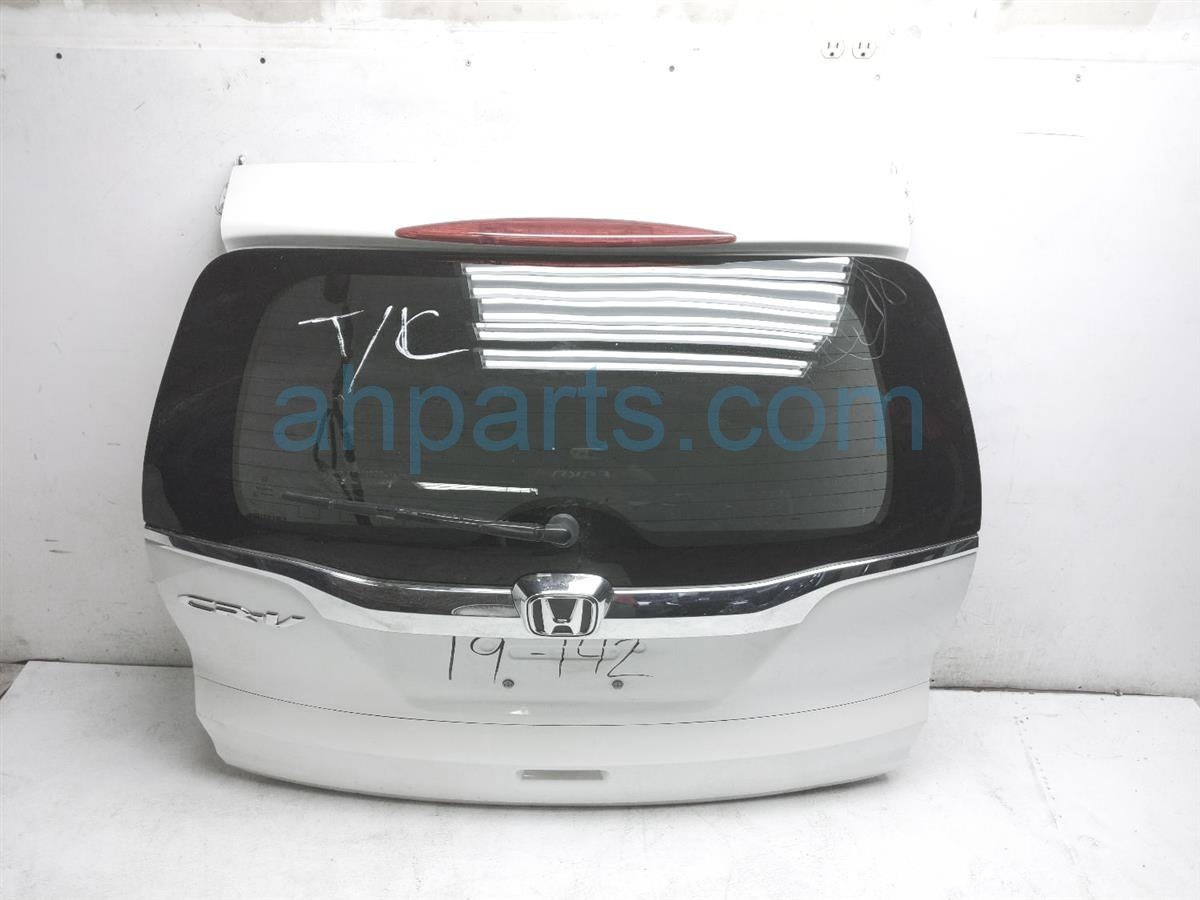 2015 Honda CR V Deck Lid Trunk / Tailgate   White 68100 T1W A90ZZ Replacement