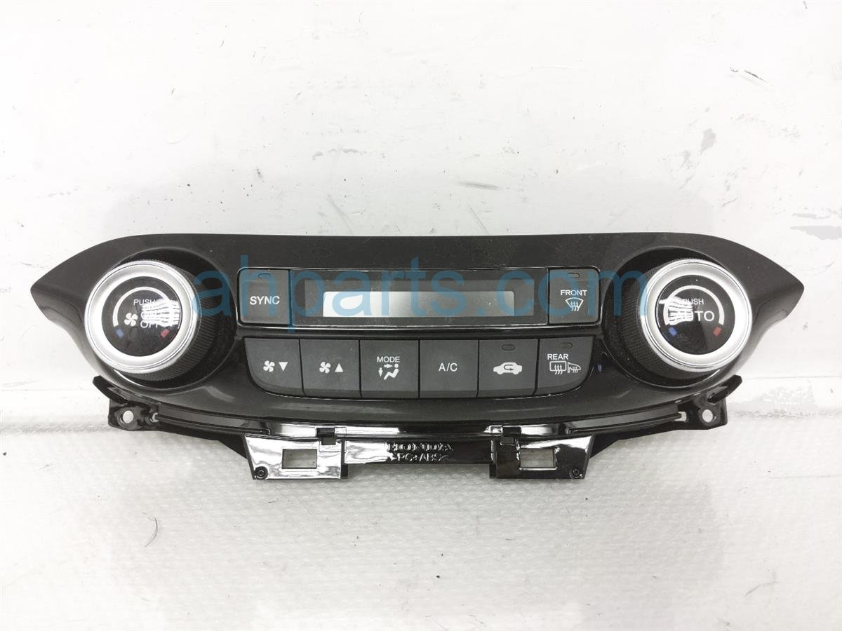 2015 Honda CR V Temperature Climate Ac / Heater Control (on Dash) 79600 T1W A41ZB Replacement