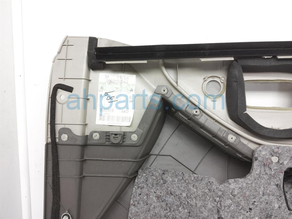 2007 Toyota Highlander Trim / Liner Front Driver Interior Door Panel   Tan Clth 67620 48341 A0 Replacement