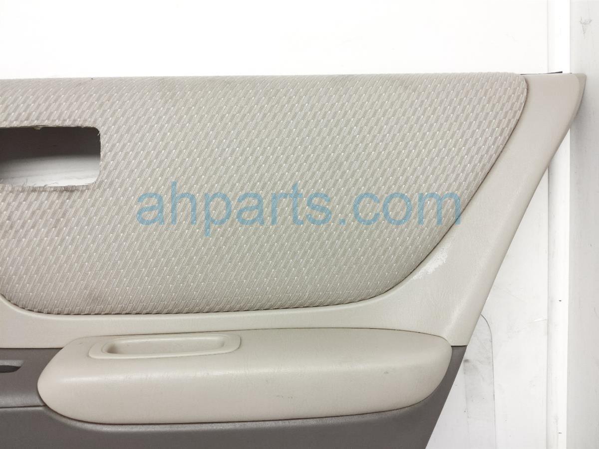 2007 Toyota Highlander Trim / Liner Rear Passenger Interior Door Panel   Tan Clth 67630 48270 A1 Replacement