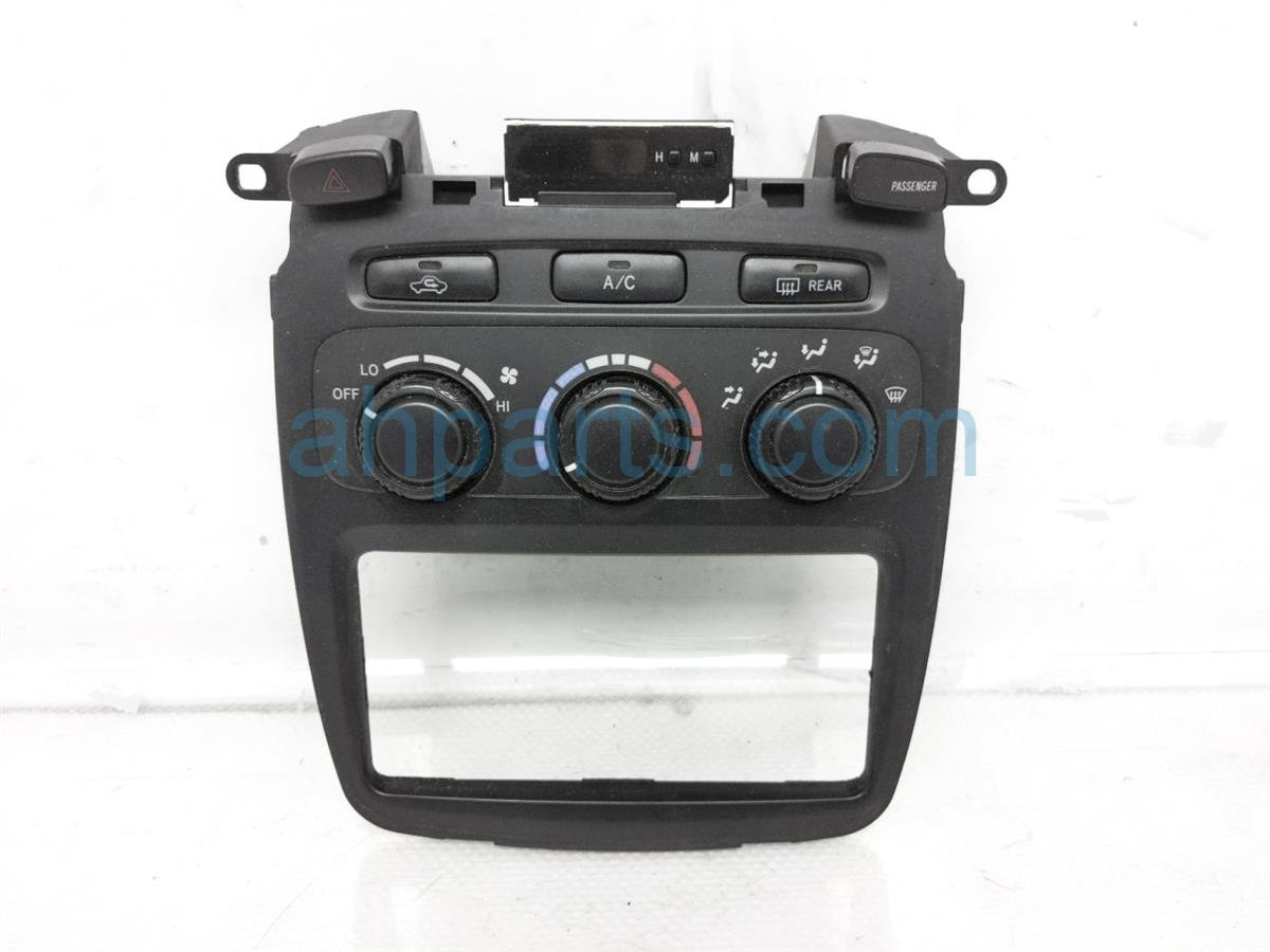 2007 Toyota Highlander Temperature Ac / Heater Climate Control 55904 48110 Replacement
