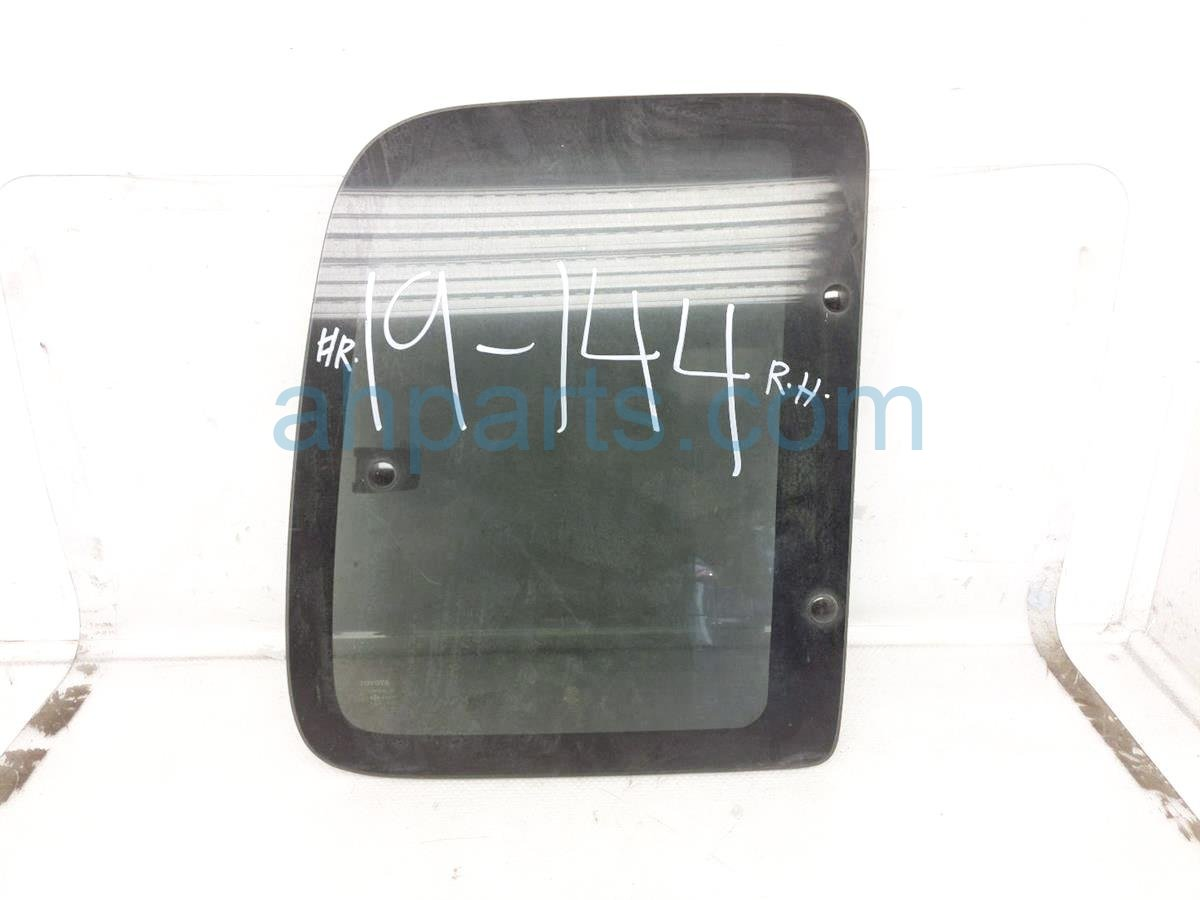 1998 Toyota T100 Door / Rear Passenger Stationary Glass Window 62711 34010 Replacement